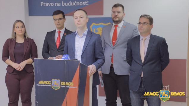 DEMOS podržava rad Odbora za izborne reforme